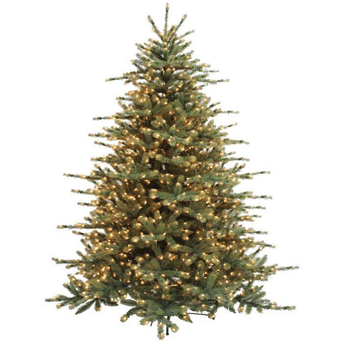 Grand Pre-Lit Spruce Christmas Tree