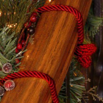 Red Garland Tie