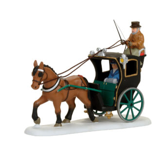 Dept 56 Dickens Holiday Cab Ride