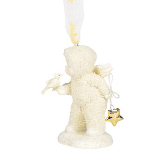 A Kiss for Luck Snowbaby Ornament