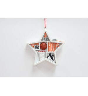 Sport Shadow Box Ornaments