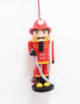 Nutcracker Fireman Ornament