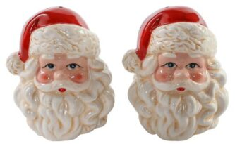 Santa Face salt and Pepper