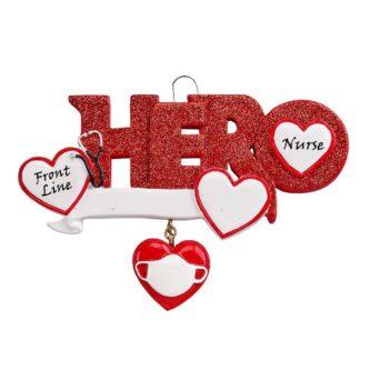 Hero Nurse Ornament