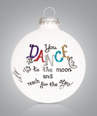 Dance Ornament Dance to the moon Personalize