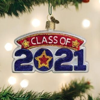 Class of 2021 Old World Ornament