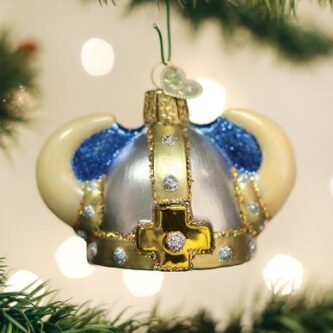 Viking Helmet Ornament
