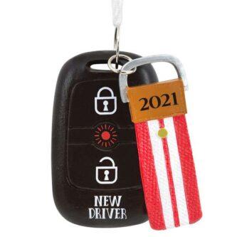 new Driver 2021 Key Fob ornament
