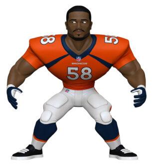 Denver Broncos Von Miller Ornament