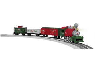 Lionel Junction Christmas Set with Illuminated Track