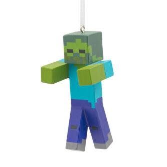 Minecraft Zombie Ornament
