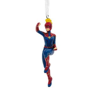 Captain Marvel Christmas Ornament End Game