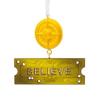 Polar Express Believe Ornament