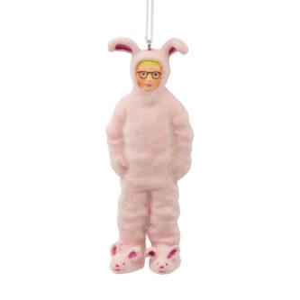 Ralphie Pink Bunny Pajamas ornament