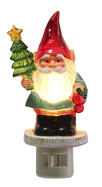 Christmas Gnome Night Light