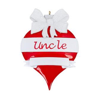 Personlized Uncle Ornament