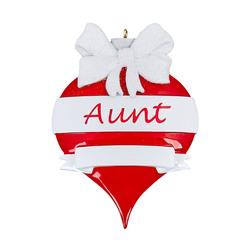 Aunt personlized ornament