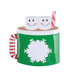Marshmallow Mug Family Personalized ornament 5 sizes