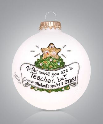 Teacher Tree Ornament to your students you are a star