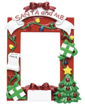 Santa and Me Frame Personalized
