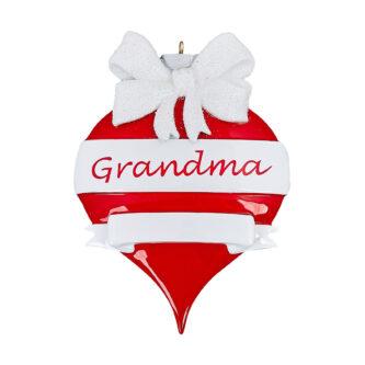 Grandma ornament Personalized Ornament shaped