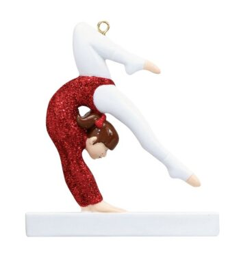 Gymnast Ornament Personalized
