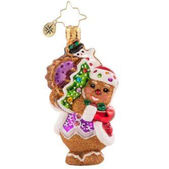 Radko The Gingerbread Man Can! Gem Chirstmas Ornament