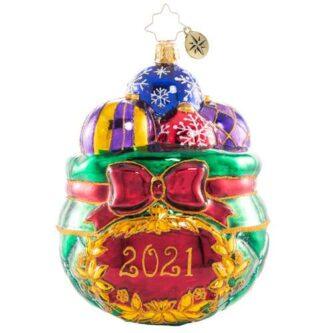 Radko Cherished Keepsakes 2021 ornament