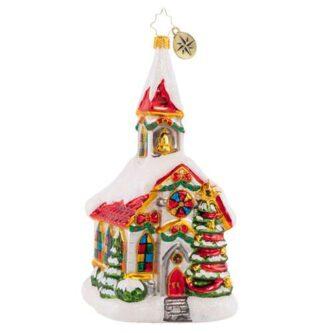 Radko Cheerful Chapel ornament