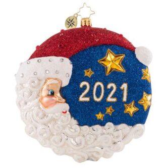 Radko The First Star I See Tonight 2021 Christmas Ornament
