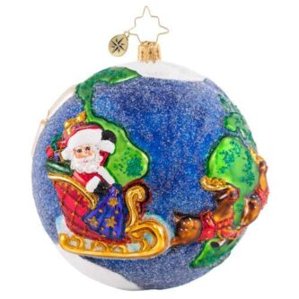 Radko all I Want For Christmas Ornament