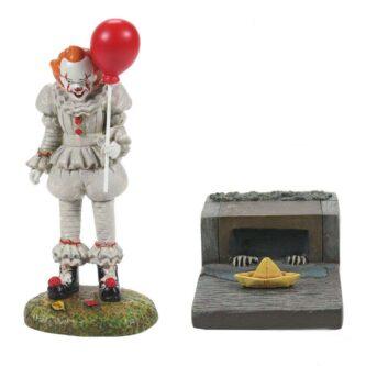 IT & The S.S. Georgie Set of Two Dept. 56 Halloween Village