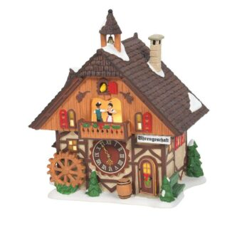 Clock Shop Alpine Village Dept. 56