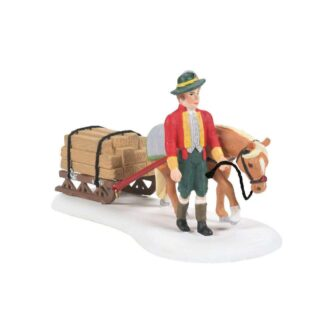 Just In Time Delivery Alpine Village Dept. 56 Accessory