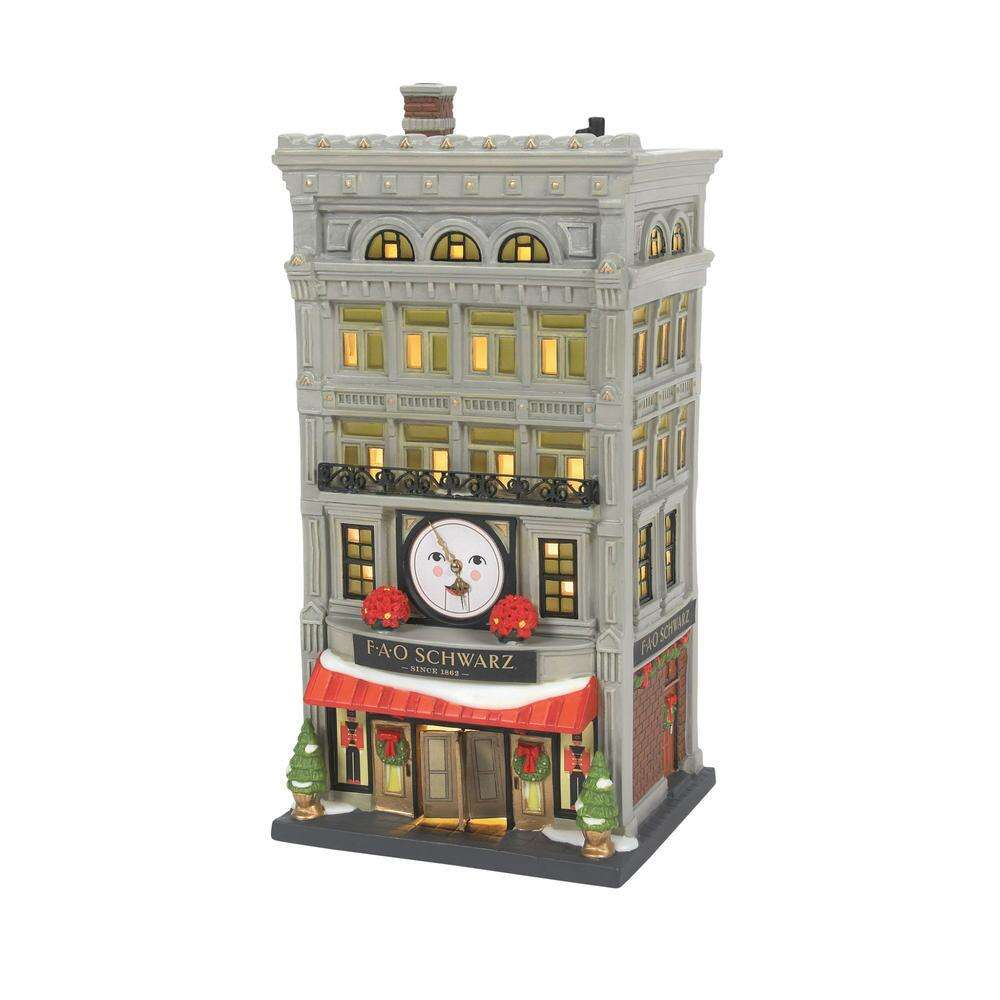 Dept 56 Christmas 2021 Dept 56 Christmas In The City Fao Schwarz New 2021 Christmas Store