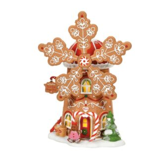 Dept. 56 Gingerbread Cookie Mill North Pole Series
