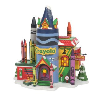 Dept. 56 Crayla Crayon Factory North Pole Series