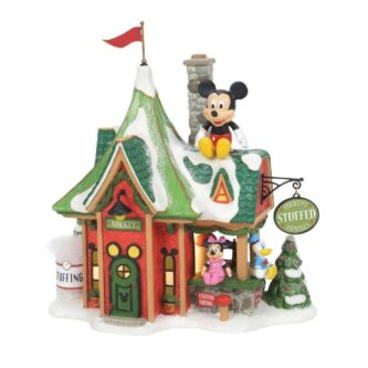 Dept. 56 Mickey's Stuffed Animals North Pole Series