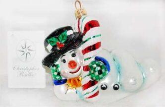 Radko Chillin' Vintage Ornament