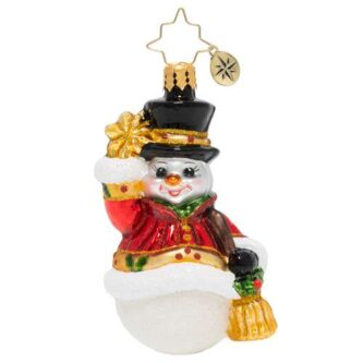 Radko Star Struck Snowman Gem