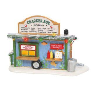 Dept. 56 Snow Village Cracker Box Snack Shack