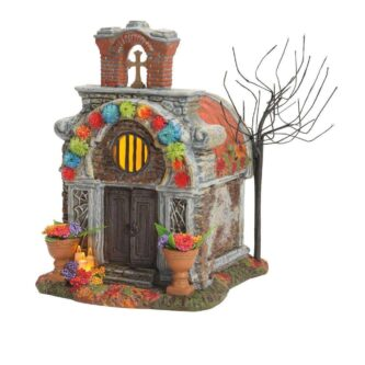 Dept. 56 Halloween Village day of the Dead Crypt