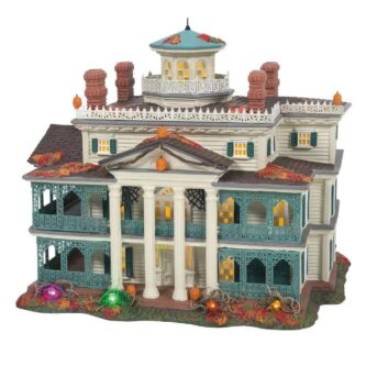 Dept. 56 Snow Village Halloween disneyland Haunted Mansion