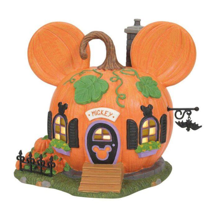 Dept. 56 Disney Village Mickey's Halloween Village Mickey's Pumpkintown House