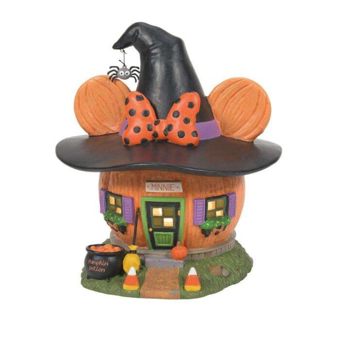 Dept. 56 Disney Village Mickey's Halloween Village Minnie's Pumpkintown House