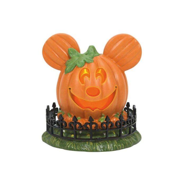 Dept. 56 Mickey's Town Center Pumpkin