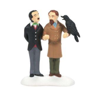 Dept. 56 Dickens Village Grip Inspires Poe