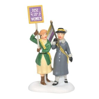 Dept. 56 Christmas in the City Suffragettes Accessory