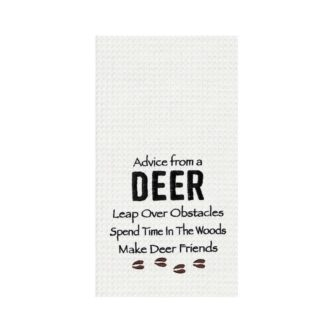 Advice From A Deer Towel
