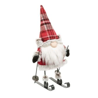 Lumberjack Gnome on Skis